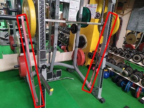 hack squat musculation elastiques entrainement force