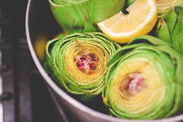 artichauts fibres alimentaires