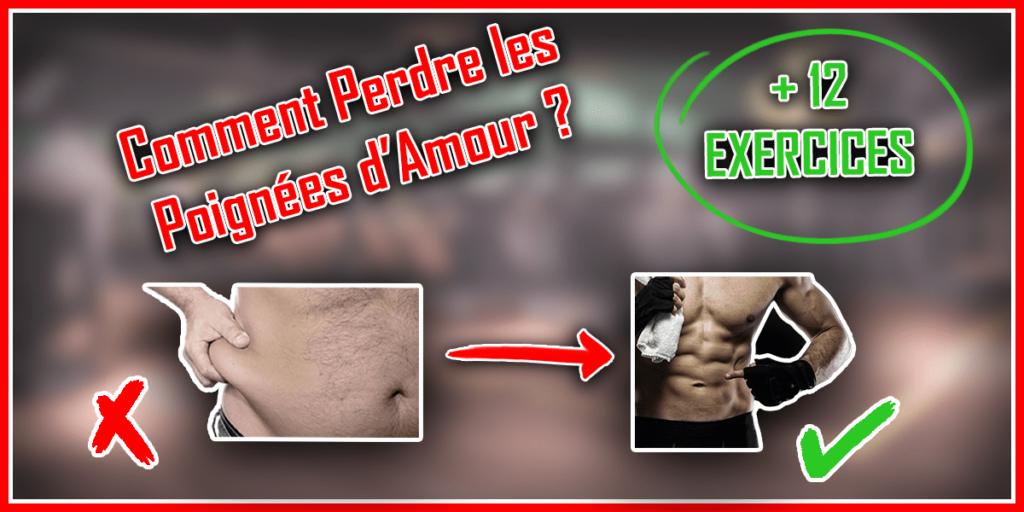 comment perdre les poignées d'amour homme gras exercices abdominaux