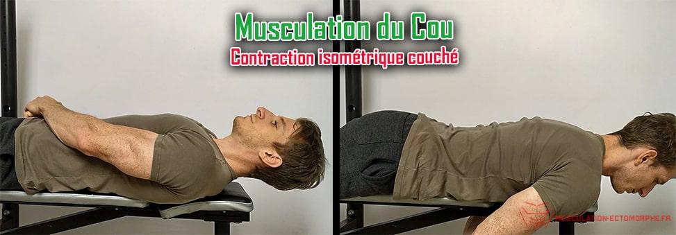 exercice de renforcement pour le cou a faire sans matériel